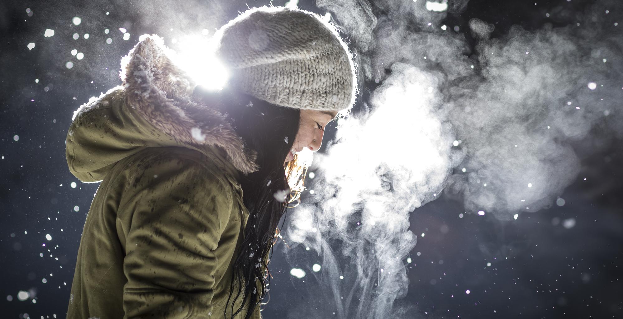 Julie Felsher, winter, pleasure, be weightless